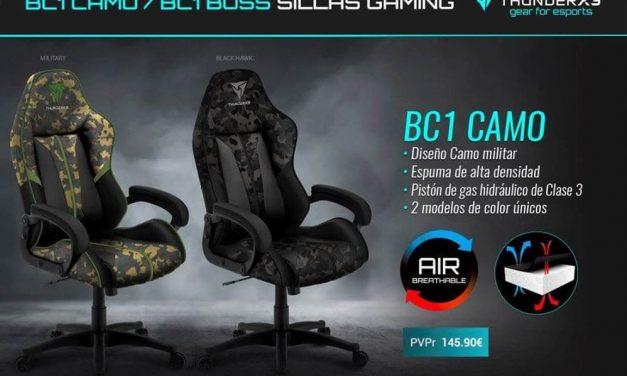 NP: Nueva silla BC1 CAMO de ThunderX3