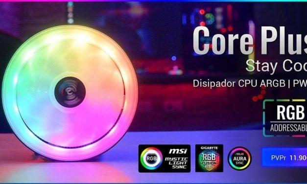 NP: Nuevo AeroCool CORE PLUS – La iluminación más espectacular para tu CPU