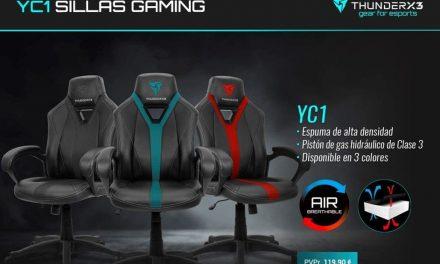 NP: Nueva silla YC1 de ThunderX3 – Comodidad, diseño y calidad