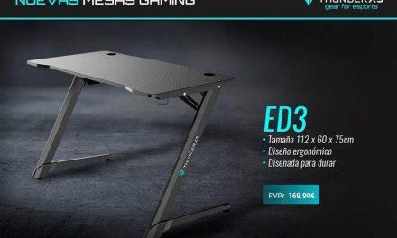 NP: Nuevas mesas gaming ED3 y ED7 – La revolución en escritorios gaming