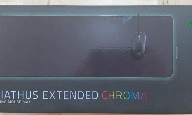 Review Alfombrilla Razer Goliathus Extended Chroma
