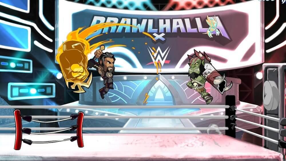 """NP: Las superestrellas de la WWE Roman Reigns, The Undertaker, Asuka y el integrante del Hall of Fame de la WWE, """"Macho Man"""" Randy Savage, entran hoy en Brawlhalla como Epic Crossovers"""