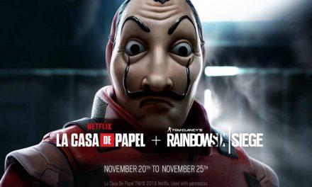 NP: Este fin de semana descubre en Tom Clancy's Rainbow Six Siege el evento por tiempo limitado y gratuito 'La Casa de Papel'
