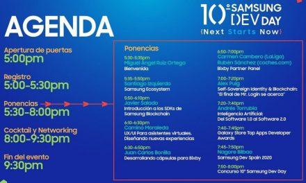 NP: El Samsung Dev Day celebra su 10ª edición con la comunidad de desarrolladores españoles