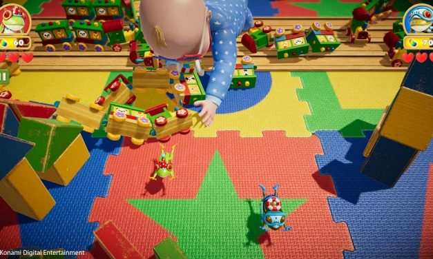 NP: El modo cooperativo para dos jugadores de Frogger en Toy Town próximamente en exclusiva en Apple Arcade