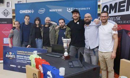 NP: La Liga IESports entrega los premios a los ganadores de League of Legends (LoL) y Clash Royale (CR) en la pasada temporada; el Institut Vallès de Sabadell y el IES María de Molina de Madrid