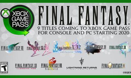 NP: Nuevo clásicos de Final Fantasy en el Xbox Game Pass en 2020