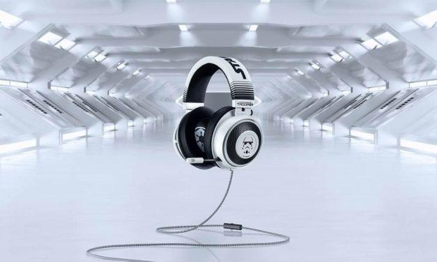 NP: Muestra tu lealtad al Imperio Galáctico con los auriculares Kraken Stormtrooper Edition