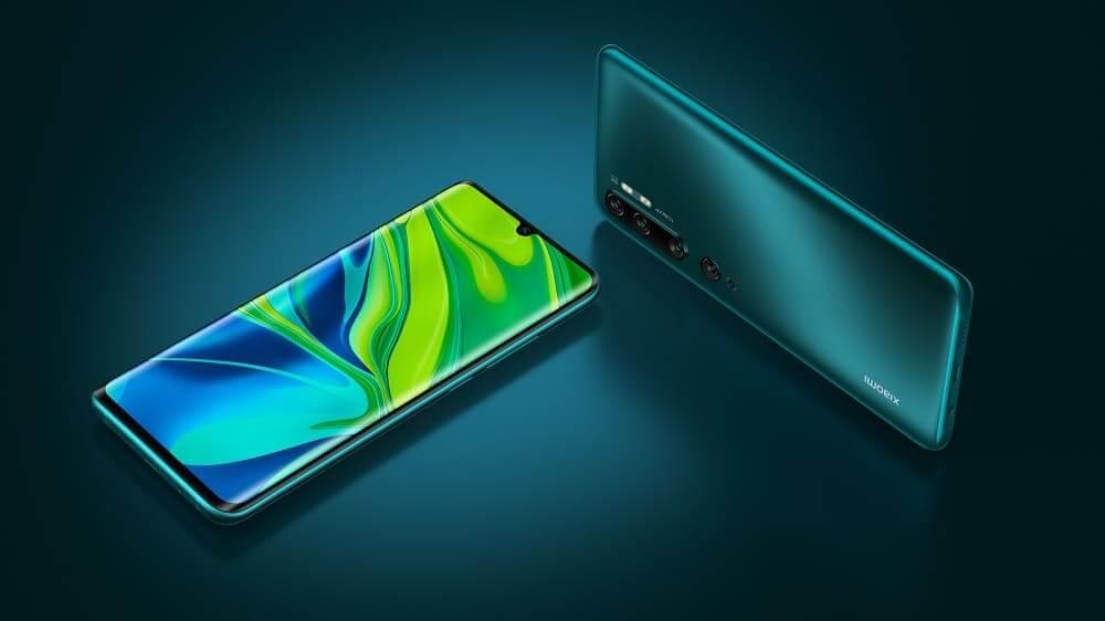 NP: Xiaomi lanza Mi Note 10, el primer dispositivo del mundo con una configuración de cámara quíntuple de 108 MP