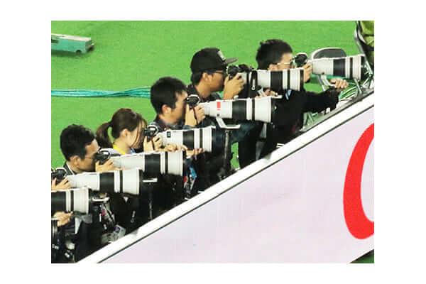 NP: Canon ha sido la marca de aproximadamente el 70% de las cámaras de prensa utilizadas durante la fase final de la Rugby World Cup 2019