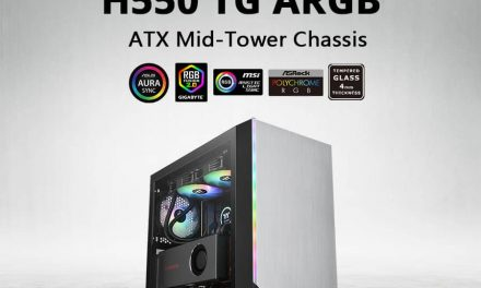 NP: Thermaltake H550 TG ARGB Mid-Tower Chassis