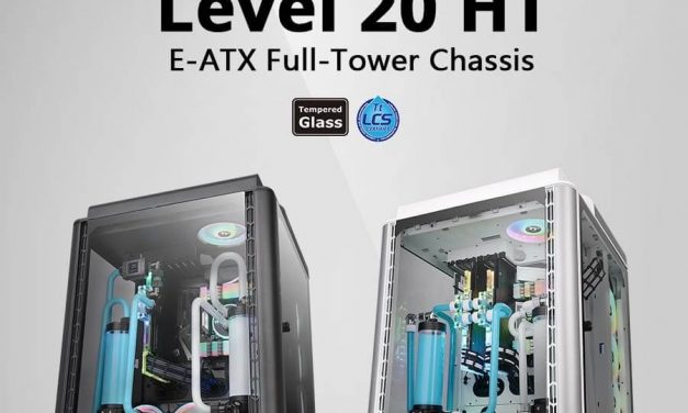 NP: Thermaltake Level 20 HT/HT Snow Edition Full Tower Chassis
