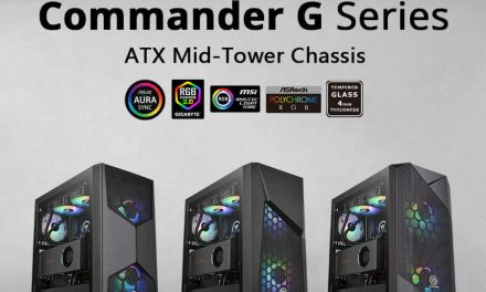 NP: Nuevos Thermaltake Commander G Series Tempered Glass ARGB Edition