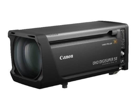 NP: Canon presenta sus dos primeros objetivos zoom para cámaras broadcast 8K