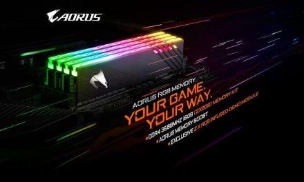 NP: GIGABYTE Presenta AORUS RGB MEMORY 16GB 3600MHz