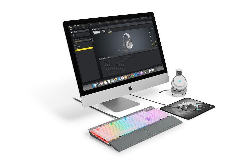 NP: CORSAIR anuncia el software iCUE para macOS, permitiendo una personalización a fondo de los periféricos CORSAIR
