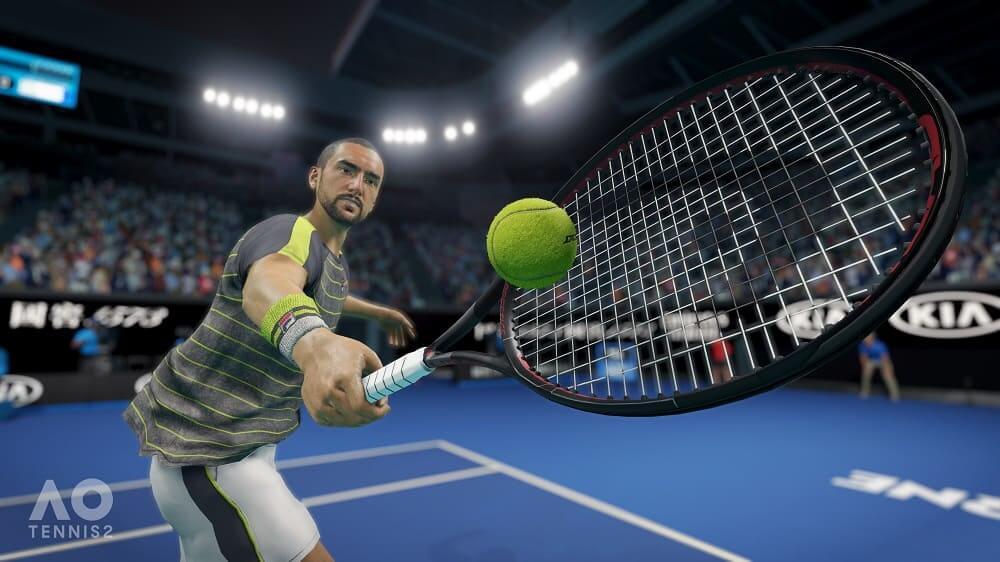NP: Detrás de las escenas de AO Tennis 2
