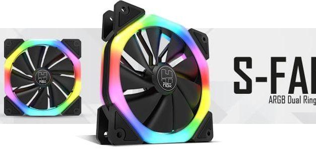 NP: Hummer presenta S-FAN, el ventilador con doble anillo LED ARGB pensado para completar tu configuración