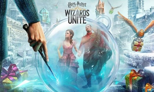 NP: Celebra la Navidad en Harry Potter: Wizards Unite
