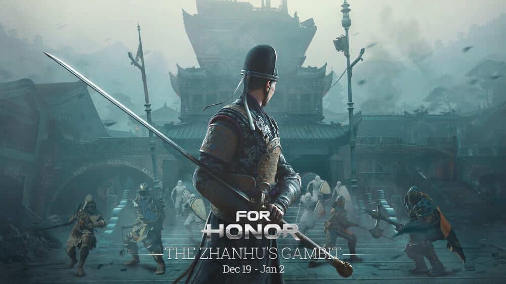 NP: Escápate con el emperador en el evento de For Honor, El Gambito de Zhanhu, jugable desde hoy hasta el dos de enero