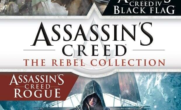 NP: Assassin's Creed The Rebel Collection ya disponible para Nintendo Switch