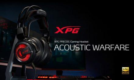 NP: XPG presenta PRECOG, los primeros auriculares gaming del mundo con dos transductores