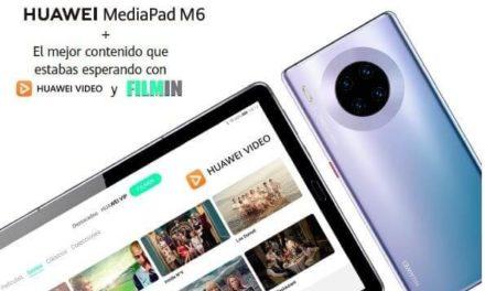 NP: Huawei refuerza su apuesta por Huawei Mate 30 Pro en nuevos canales de venta sumando la MediaPad M6 y una suscripción premium a Filmin