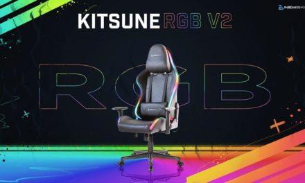 NP: Newskill presenta Kitsune RGB V2: una silla Gaming con múltiples modos de iluminación RGB