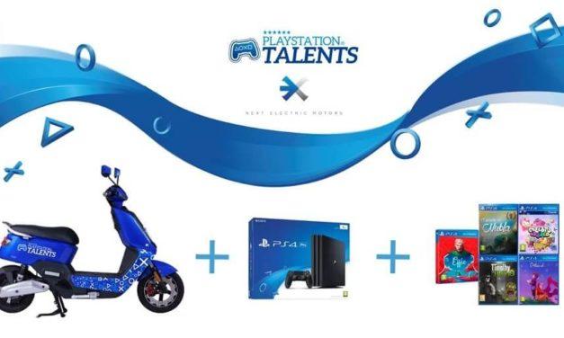 NP: PlayStation Talents y Next Electric Motors lanzan una edición especial limitada de la moto NEXT NX1