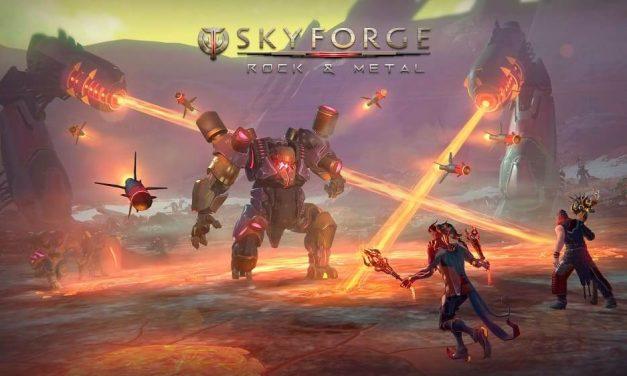 NP: Skyforge para PS4, Xbox One y PC recibirá la expansión Rock & Metal en diciembre