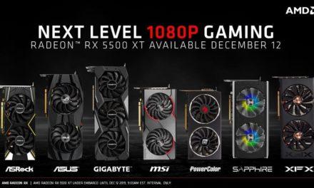 NP: AMD presenta la tarjeta gráfica AMD Radeon RX 5500 XT: Increíble rendimiento a 1080p, imágenes impresionantes y potentes funciones de software