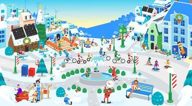 NP: En vivo desde el Polo Norte, ¡en la aldea de Papá Noel!