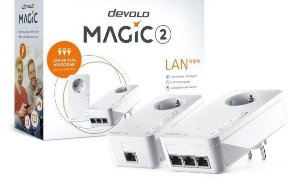 NP: devolo Magic 2 LAN triple: el adaptador Powerline más rápido con tres puertos Gigabit LAN