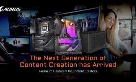 NP: GIGABYTE ofrece hardware de primera línea para creadores de contenido