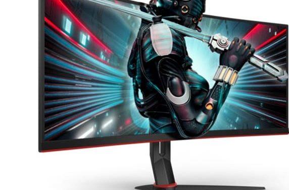NP: Sumérgete con los nuevos monitores gaming curvos  ultra-anchos CU34G2 de la serie G2 de AOC