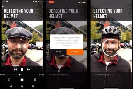 """NP: Los """"selfies"""" de Circ reconocen si llevas casco a través de la inteligencia artificial"""