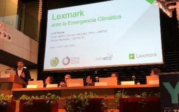 NP: Lexmark reivindica la economía circular en el sector tecnológico durante la Cumbre del Clima (COP 25)