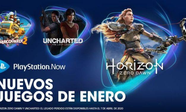 NP: Horizon Zero Dawn, Uncharted: El Legado Perdido y Overcooked! 2 listos para unirse a PlayStation Now en enero