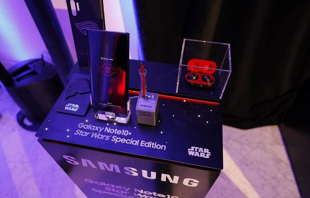 NP: Galaxy Note10+ Star Wars Special Edition se une al preestreno de Star Wars: El Ascenso de Skywalker