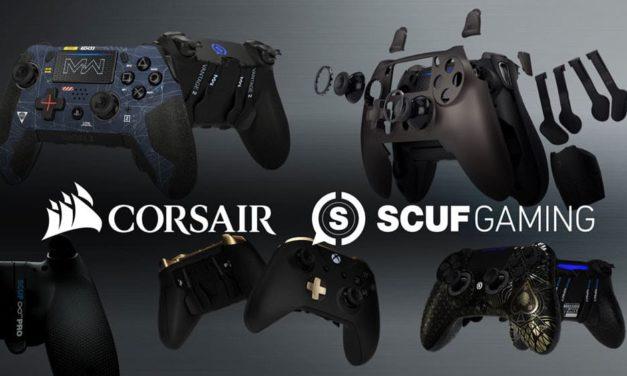 NP: CORSAIR accede a adquirir SCUF Gaming, añadiendo mandos gaming de gran calidad a su portafolio