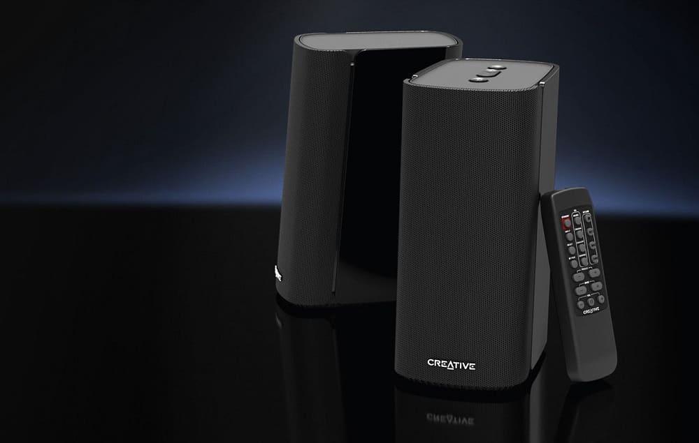 NP: Creative T100, la evolución de los altavoces de alta fidelidad para el escritorio