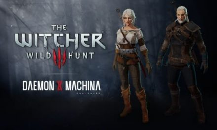 NP: DLC gratuito con temática de Witcher para DAEMON X MACHINA ya disponible para Nintendo Switch!