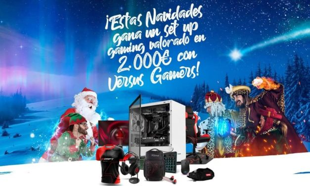 NP: Esta Navidad Versus Gamers te regala un premio valorado en más de 2.000€