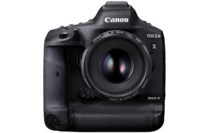 NP: Presentamos la nueva estrella de la acción: domina la velocidad con la esperadísima Canon EOS-1D X Mark III