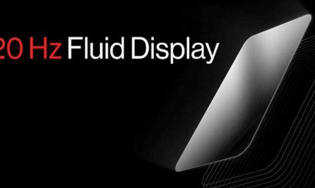 NP: OnePlus anuncia la pantalla Fluid Display de 120 Hz para ofrecer la experiencia de pantalla más fluida del mercado