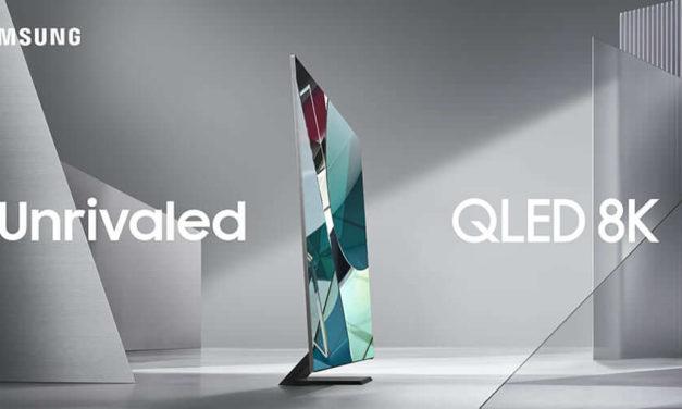 NP: Samsung Electronics presenta la nueva gama de televisores QLED 8K de 2020 en CES