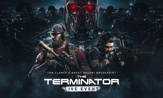 NP: Terminator invade Tom Clancy's Ghost Recon Breakpoint