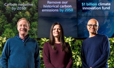 NP: Microsoft anuncia importantes novedades para mejorar la sostenibilidad y hacer negativas sus emisiones de carbono para el año 2030
