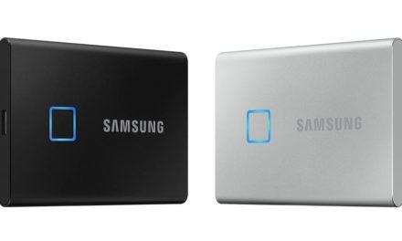 NP: Samsung presenta la memoria SSD T7 Touch, un nuevo estándar en velocidad y seguridad para el almacenamiento externo