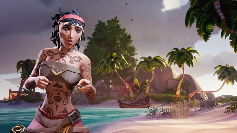 NP: Legends of the Sea, la actualización gratuita de enero de Sea of Thieves, ya está disponible
